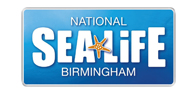 Up to 30% off entry to SEA LIFE Birmingham Logo